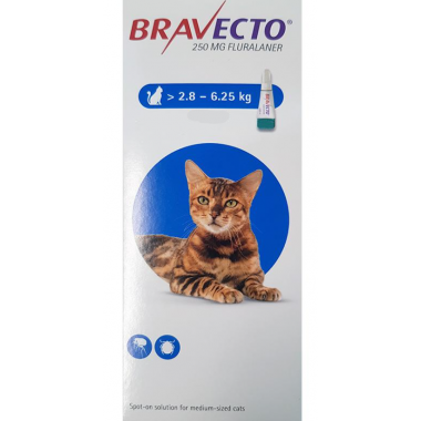 Bravecto Spot-on Chat 250mg...