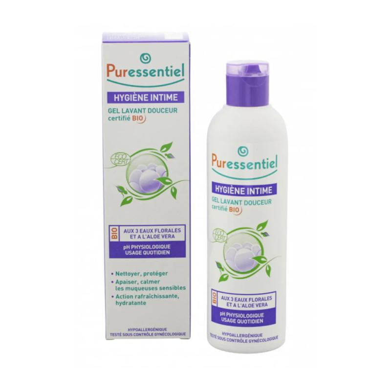 Puressentiel Hygiène Intime Gel Lavant Douceur Bio 250ml disponible sur Pharmacasse