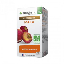 Arkogélules Bio Maca Boîte de 45 gélules