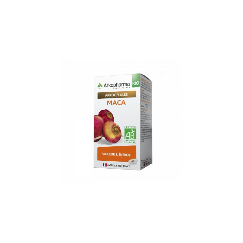Arkogélules Bio Maca Boîte de 45 gélules disponible sur Pharmacasse