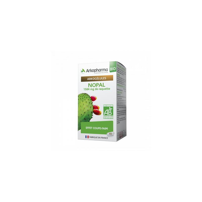 Arkogélules Bio Nopal Boîte de 45 gélules disponible sur Pharmacasse