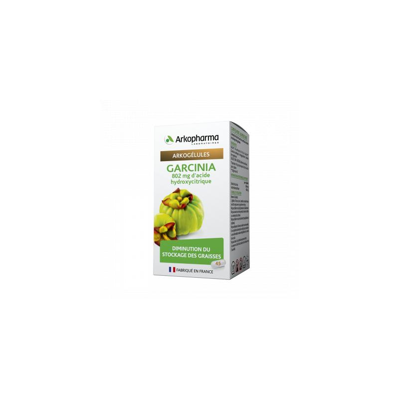 Arkogélules Garcinia Boite de 45 gélules disponible sur Pharmacasse