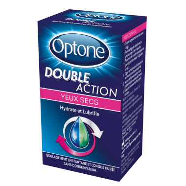 OPTONE Double Action Yeux Secs Flacon de 10ml