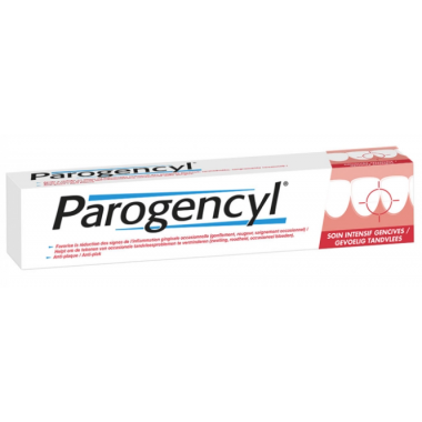 Parogencyl  Dentifrice Soin Intensif Gencives Tube de 75ml