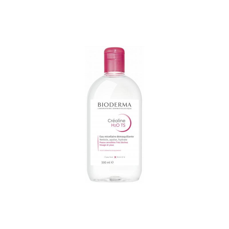 Bioderma Créaline T.S H20 Flacon de 500ml disponible sur Pharmacasse