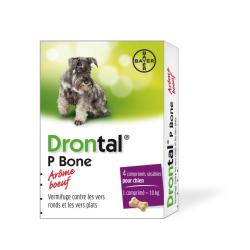 Drontal chien boite de 4 comprimés