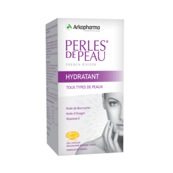 Arkopharma Perles de Peau Hydratant Boîte de 200 capsules