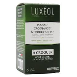 LUXEOL Pousse Croissance & Fortification à croquer Boîte de 30 comprimés disponible sur Pharmacasse