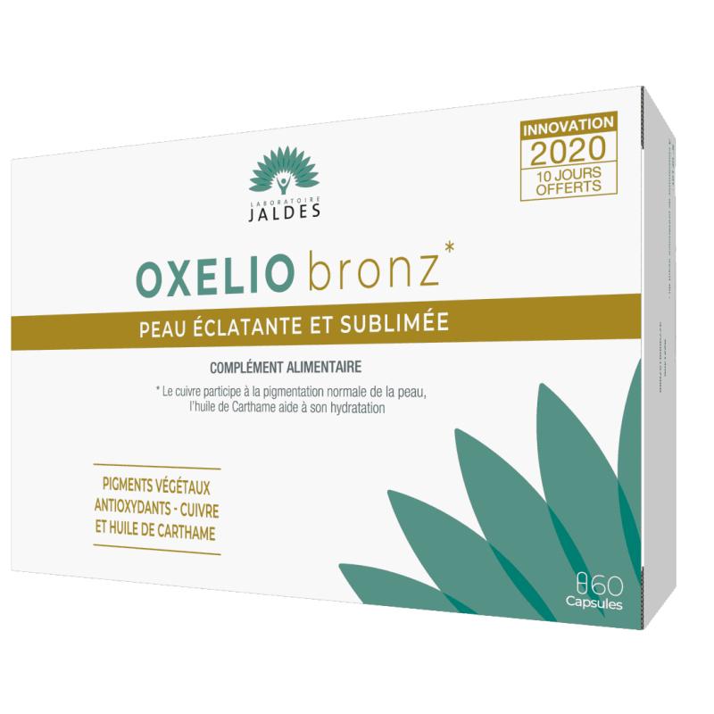 Oxelio Bronz Boîte de 60 capsules disponible sur Pharmacasse