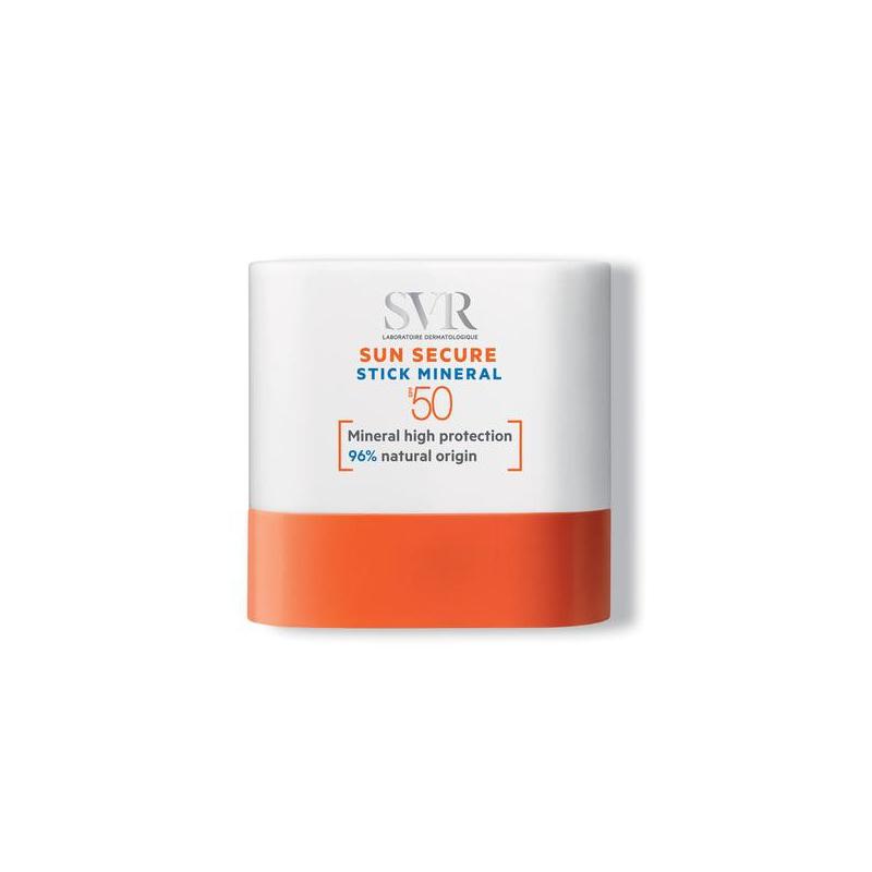 Svr Sun Secure Stick Minéral Spf50+ 10g disponible sur Pharmacasse