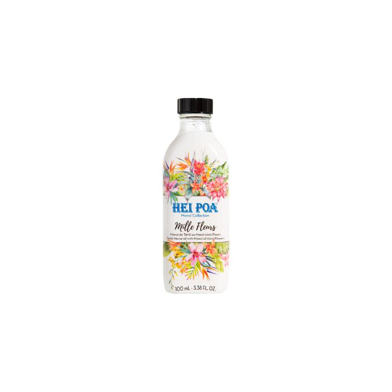Hei Poa Pur Monoï Collection Mille Fleurs 100ml disponible sur Pharmacasse