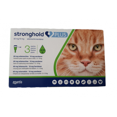 Stronghold Plus 60mg/10mg...