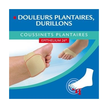 EPITACT Coussinets Plantaires Taille S 36/38