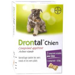 Drontal Chien boite de 2 comprimés