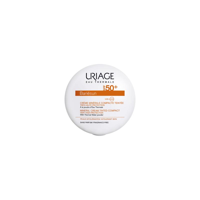 Uriage Bariésun Crème Minérale Compact Teintée Claire SPF50+ 10g disponible sur Pharmacasse