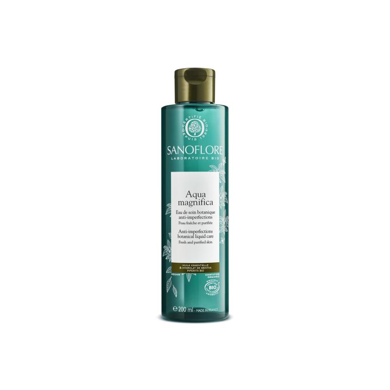 Sanoflore Aqua Magnifica Eau de Soin Purifiante Anti-imperfections Certifée Bio 200 ml disponible sur Pharmacasse