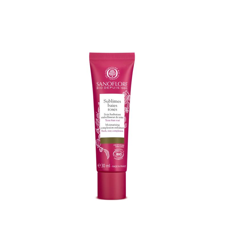 Sanoflore Sublimes Baies Roses Soin Hydratant Teinté Certifié Bio 30 ml disponible sur Pharmacasse