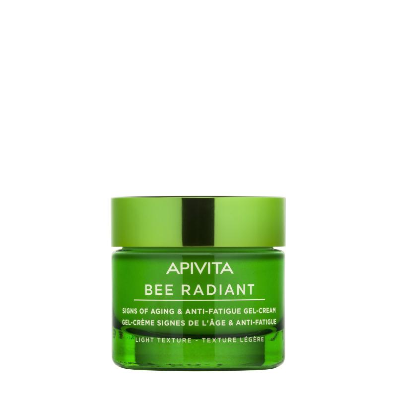 Apivita Bee Radiant Gel-Crème Anti-âge et Anti-fatigue Texture Légère 50ml disponible sur Pharmacasse