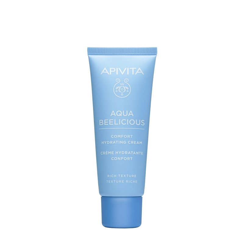 Apivita Aqua Beelicious Crème Hydratante Confort Texture Riche 40ml disponible sur Pharmacasse