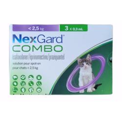 Nexgard Combo Chat jusqu'à...