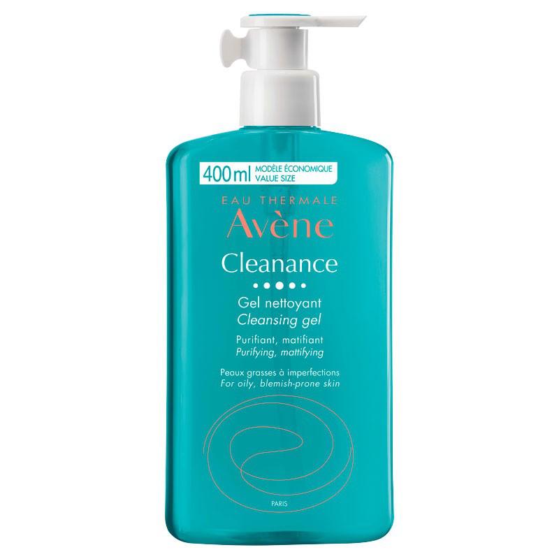 Avène Cleanance Gel Nettoyant 400ml disponible sur Pharmacasse