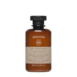 Apivita Shampoing Antipelliculaire - Pellicules Sèches 250ml
