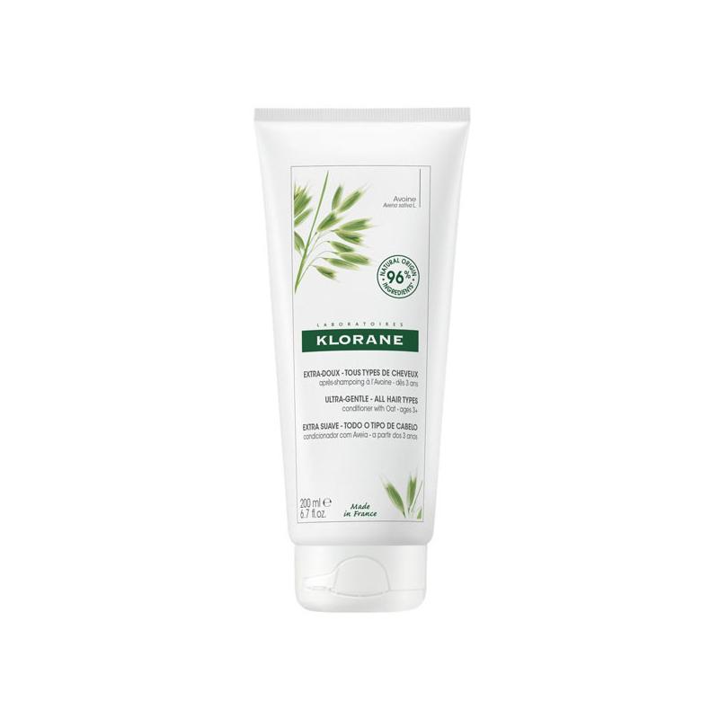 Klorane Aprés-shampooing au Lait d'Avoine Extra-doux 200ml disponible sur Pharmacasse