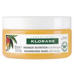 Klorane Masque Réparateur au Beurre de Mangue 150ml