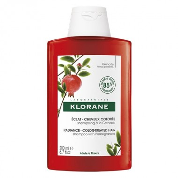 Klorane Shampooing à la Grenade pour Cheveux Colorés 200ml