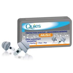 QUIES Protection Spéciale musique  Boite de 2 unités