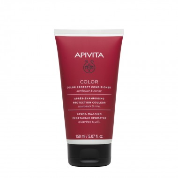 Apivita Après-shampoing Protection Couleur Sans Rinçage 150ml disponible sur Pharmacasse