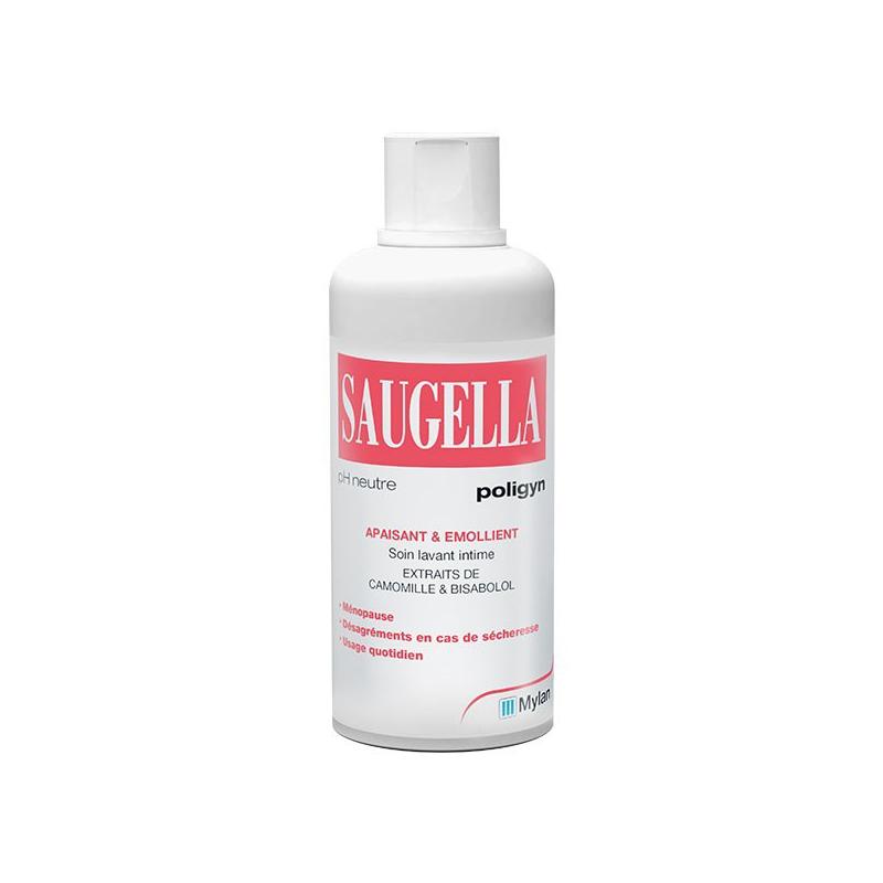 Saugella Poligyn Soin Lavant Intime 250ml disponible sur Pharmacasse