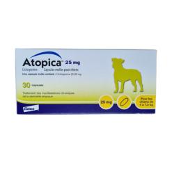 Atopica 25mg Chiens (4 à...