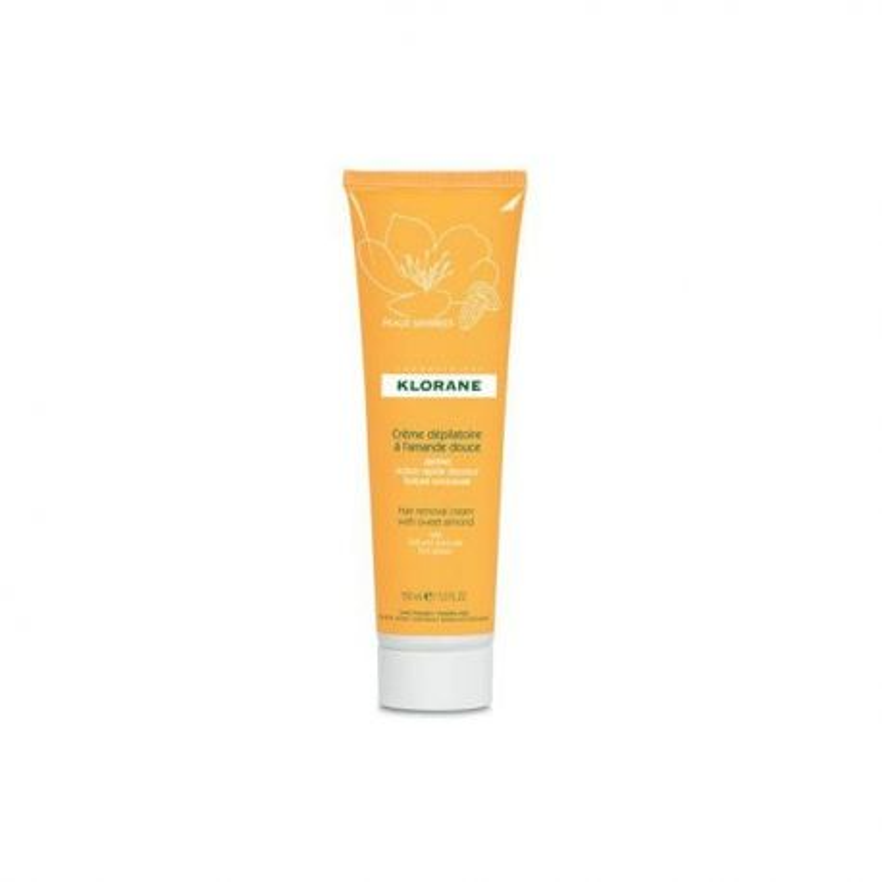 KLORANE Crème dépilatoire à l'amande douce 150ml disponible sur Pharmacasse