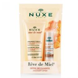 NUXE REVE DE MIEL duo crème main ongles et stick lèvres hydratant