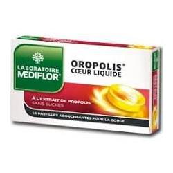 OROPOLIS coeur liquide 16 pastilles