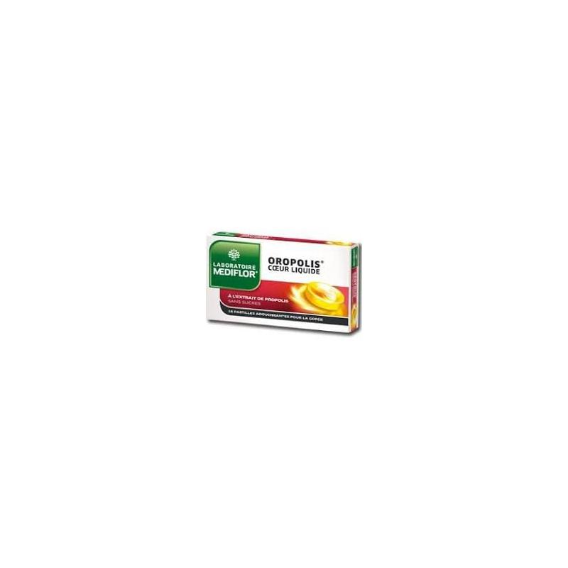 OROPOLIS  coeur liquide 16 pastilles disponible sur Pharmacasse