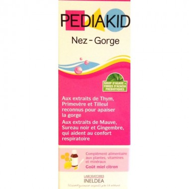 PEDIAKID Nez gorge sirop 125ml