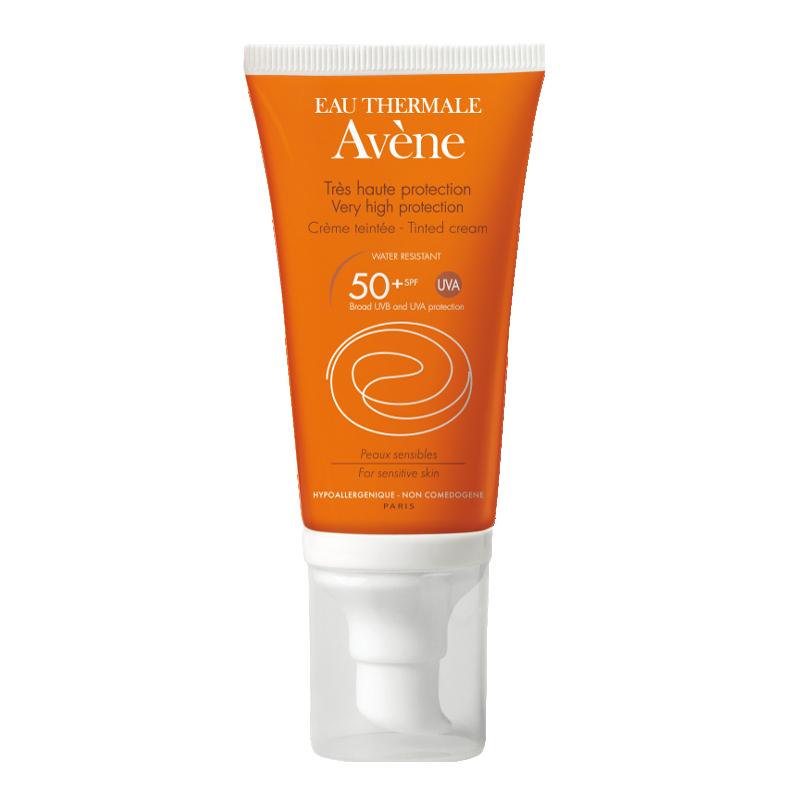 AVENE solaire crème spf50+ teintée 50ml disponible sur Pharmacasse