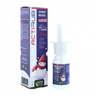 SANTE VERTE Actirub spray nasal enfant 20ml