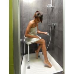 Tabouret d'angle pour douche sumatra