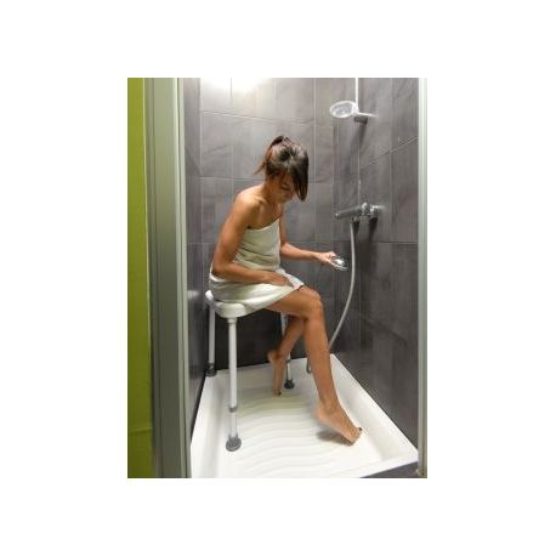 Tabouret d'angle pour douche   sumatra disponible sur Pharmacasse
