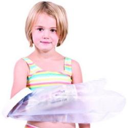 Protection plâtre demi jambe enfant