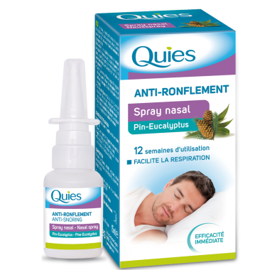 QUIES Spray Nasal Pin Eucalyptus 15ml