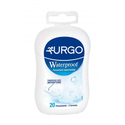 URGO Waterproof pré-découpés boîte de 20 pansements