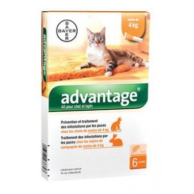 ADVANTAGE 40 chat 6 pipettes