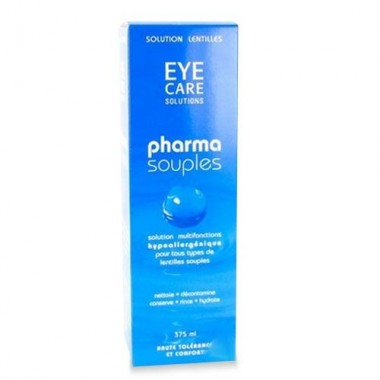 EYE CARE solution lentilles