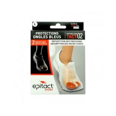 EPITACT SPORT Tact 02 Protections ongles bleus L