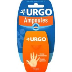 URGO Pansement hydrocolloïde ampoules coté du pied boîte de 6