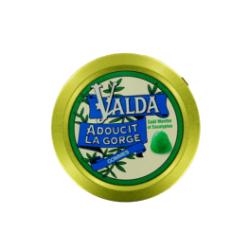VALDA gommes menthe eucalyptus avec sucre bt 50